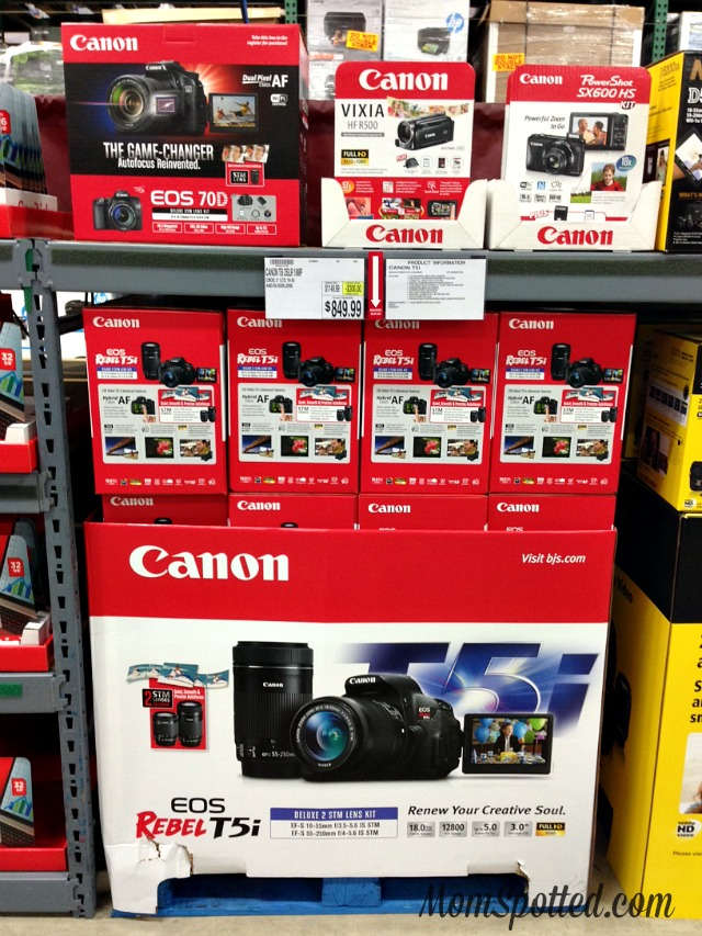 BJ's Wholesale Club Canon DSLR Camera