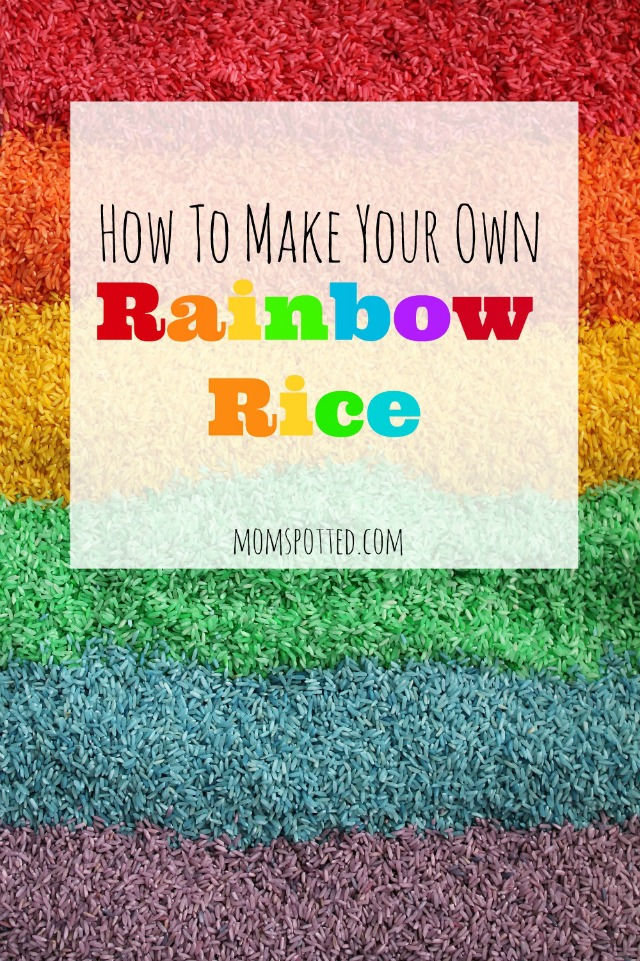 How To Make Your own Rainbow Rice
