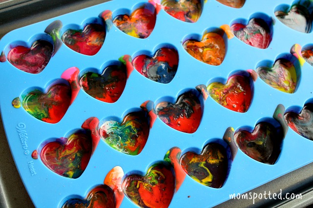 Make Your Own Heart Shaped Crayons Tutorial