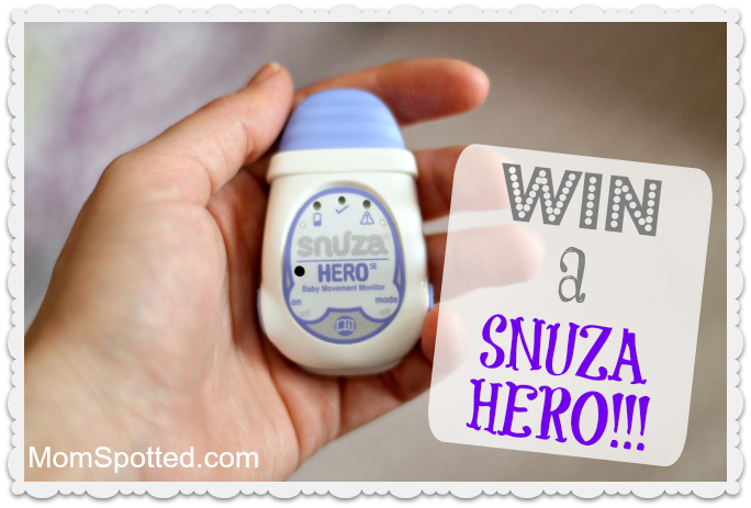 Snuza Hero – The Portable Movement Baby Monitor Review & GIVEAWAY!