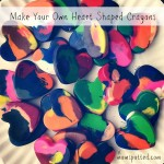 Make Your Own Heart Shaped Crayons Tutorial {Fun Crafts With Mom}