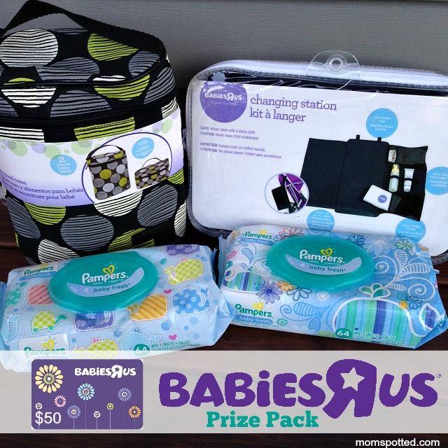Babies 'R' Us Winter Milestones Prize Pack