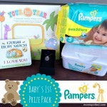 Celebrate Your Baby's 1st Milestones with Pampers {Plus, $100 Prize Pack Giveaway}