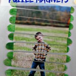 Popsicle Stick Puzzle Magnets {Fun Crafts with Mom}