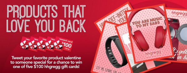 hhgregg Valentine's Day gifts