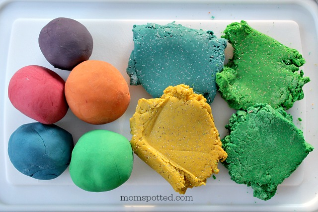 The BEST Easy No Cook Play Dough!