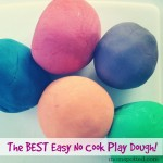 The BEST Easy No Cook Play Dough! {Fun Crafts with Mom}