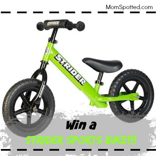 Give Your Kids Confidence With The STRIDER 12 Sport Bike & Giveaway!