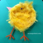 Baby Chicks Paper Plate Craft {Fun Crafts With Mom}
