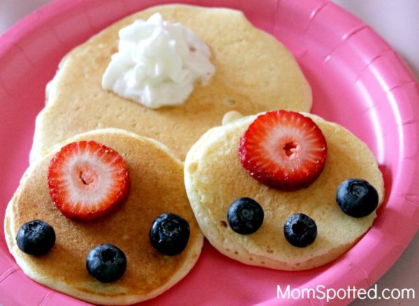 Bunny Bum Pancakes