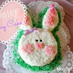 Quick and Simple Bunny Cake! Perfect For A Bunny Birthday or Easter!