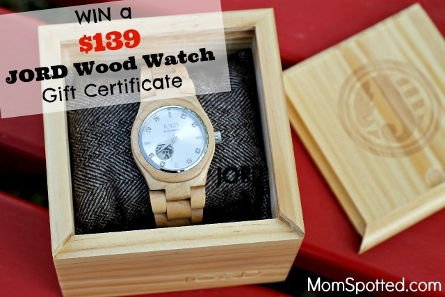 JORD Wood Watches Review and Giveaway!