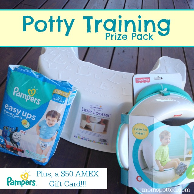 Potty Training Made Easy With Pampers Easy Ups {Plus, $100 Prize Pack Giveaway}
