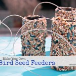How To Make Your Own Bird Seed Feeders {Fun Crafts with Mom}