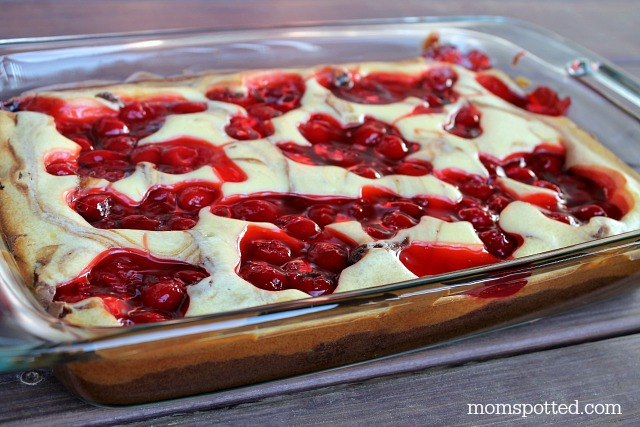 Cherry Cheesecake Brownies momspotted Pyrex