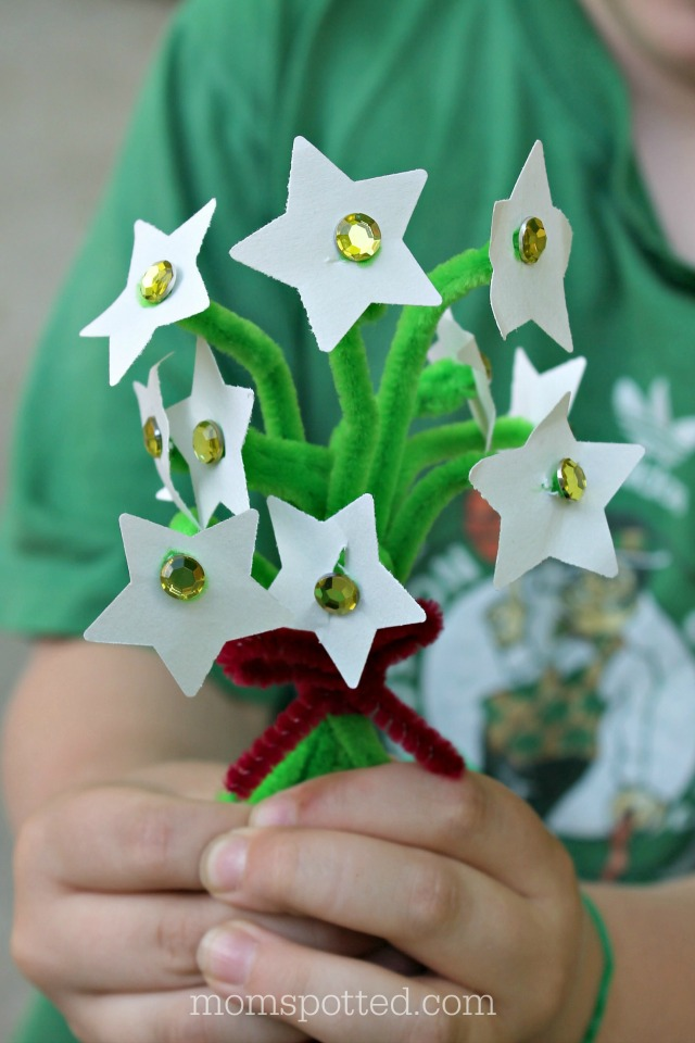 Mayflower - A Massachusetts State Flower Craft