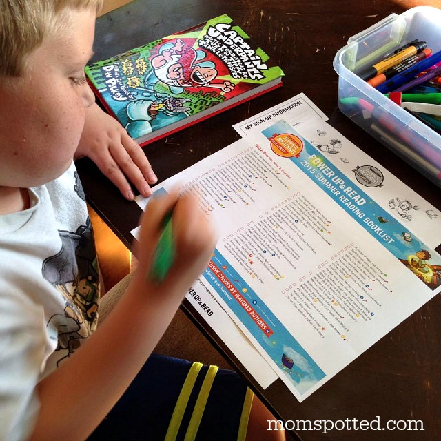 Choose our books from the Sumer Reading List from Scholastic