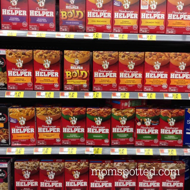 Hamburger Helper at Walmart square