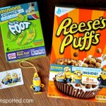 General Mills Brings Minions Buddies in your Cereal Box For The Big Minion Movie Premiere! {& Giveaway!}