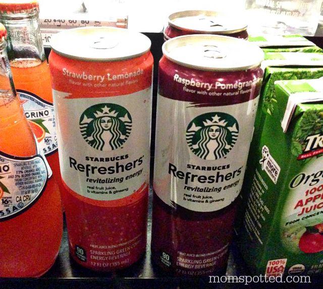 NEW Starbucks Strawberry Lemonade Refreshers