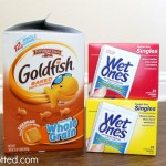 Going Back To School With Wet Ones® Singles and Pepperidge Farm® Goldfish Crackers
