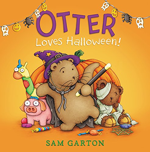 Otter Loves Halloween! Hardcover