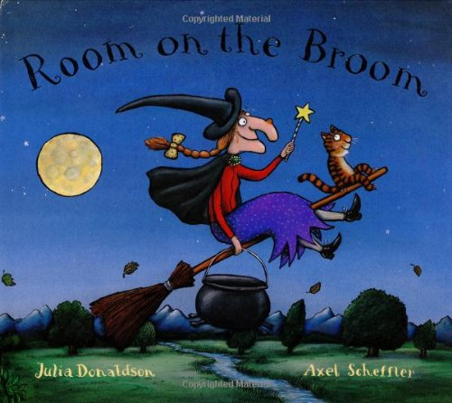 Room on the Broom Hardcover Paperback