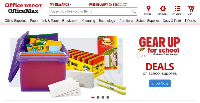 Back To School Shopping With Office Max Made Easy Momspotted