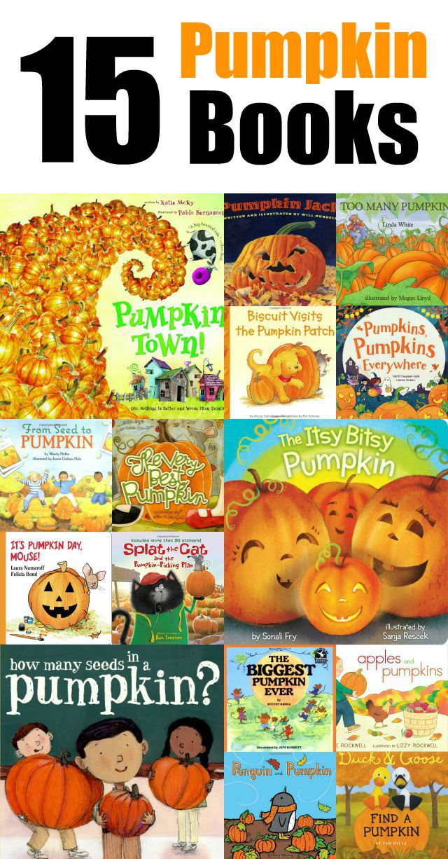 15 Pumpkin Children's Books Round up on momspotted.com