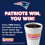What Can You Get for FREE when the New England Patriots Win?