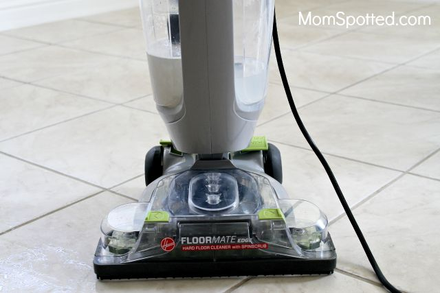 the hoover® floormate® edge hard floor cleaner {review} - momspotted