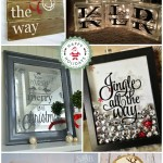 My Favorite Christmas Craft Ideas Using A Silhouette CAMEO! {Plus, Giveaway!}