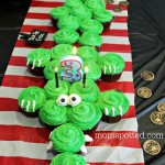 Tic Toc Croc Pirate Crocodile Cupcakes!