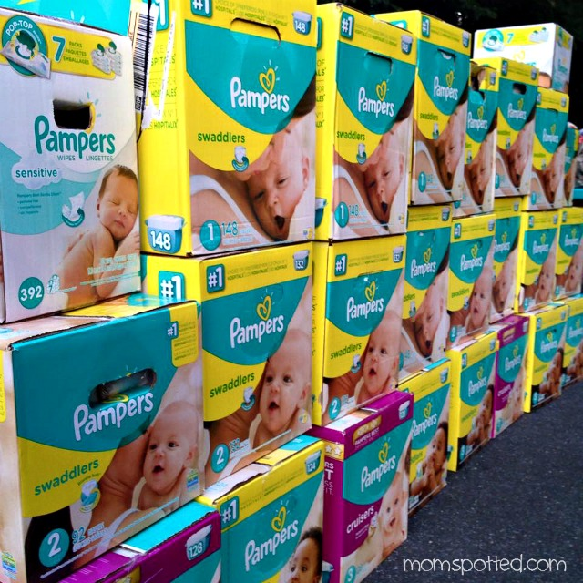 Pampers Diapers Donated for Better For Baby