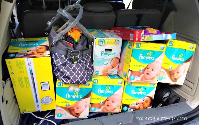 Mom Spotted Pampers Donation for Teen Mom Packed Up