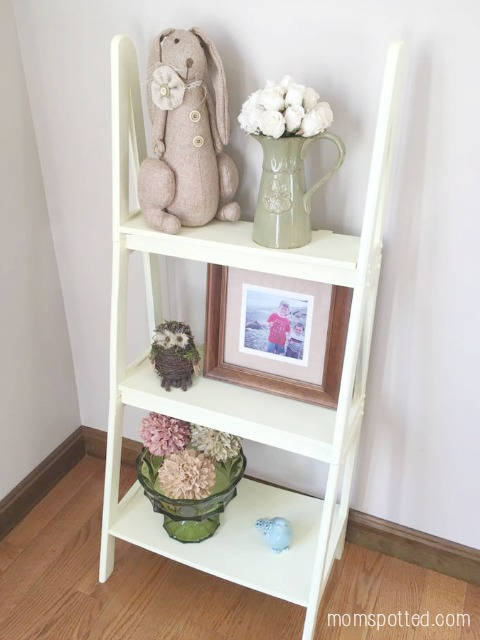 Easter Bookshelf DIY Home Decor Ace Hardward Paint Project