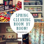Spring Cleaning Room by Room!