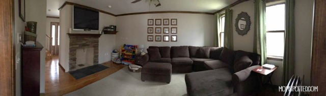 living room panarama