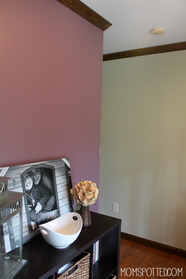 Choosing A Bold Color Accent Wall With Valspar #FindYourColor