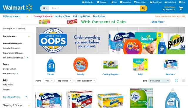 Avoid The Oops & Stock Up On Household Essentials At Walmart.com