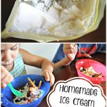 Homemade Vanilla Ice Cream In A Bag Recipe & Curious Chef Giveaway