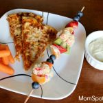 Have A Simple and Balanced Pizza Night With DIGIORNO {Fruit Kabobs & Fruit Dip Recipe}