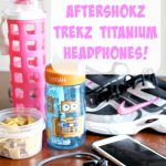 Run And Listen To Music Safely With AfterShokz Trekz Titanium Headphones {& Giveaway!}