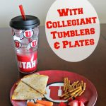 Be Ready For College Football Season With Collegiate Tumblers & Plates {& Giveaway}
