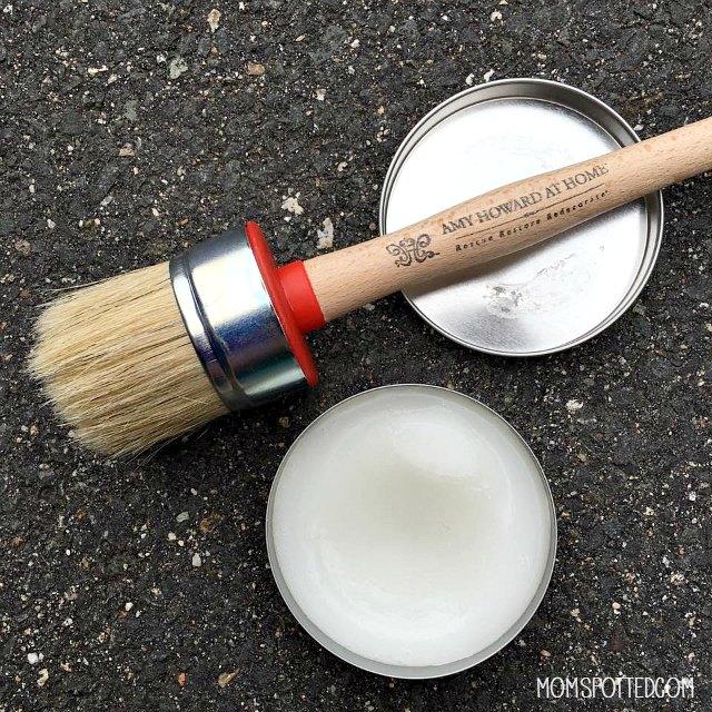 amy howard wax & brush