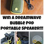 The DreamWave Bubble Pod Speaker Is Perfect For All Your Outdoor Adventures {& Giveaway}