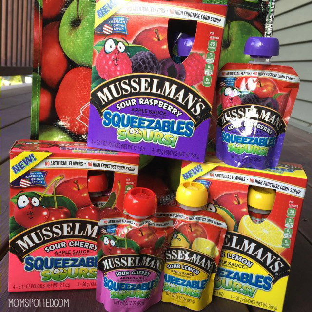 Musselman's Squeezable Sours product photo