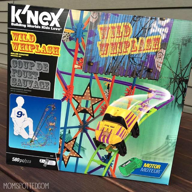 K'NEX Wild Whiplash Roller Coaster details