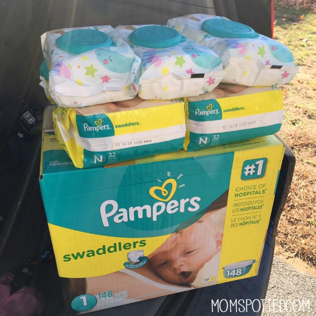 Baby Registry Advice From A Seasoned Mom - Mom Spotted pampers-baby-shower-gift