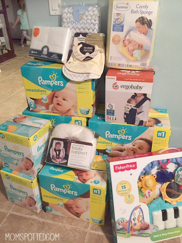 Baby Registry Advice From A Seasoned Mom - Mom Spotted Pampers Lauren